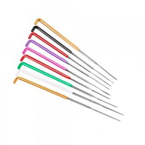 Agulha de feltragem colorida 9cm sortido