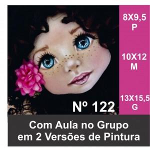 ESTENCIL122 PARA ROSTINHO DE BONECA